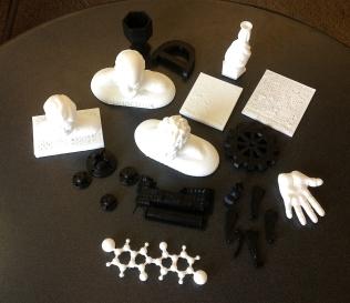 All 3D prints