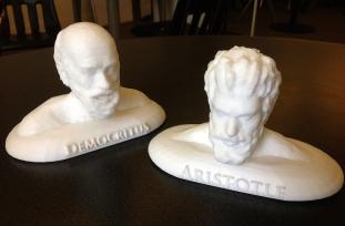 Democritus and Aristotle prints