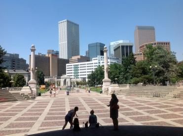 Denver plaza
