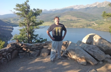 Me at Frisco Lake