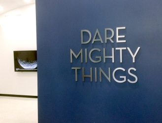 Mighty things sign