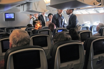 Boarding 777