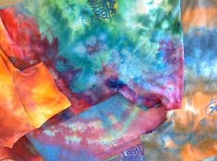 Ice dye shirts 1
