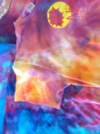 Ice Dye shirts 2