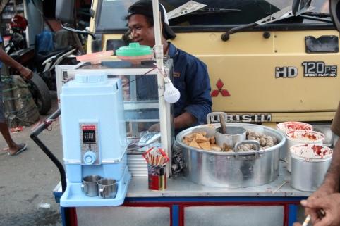 Bakso street vendor