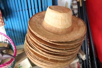Bark hats