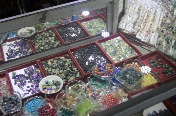 Colored stones