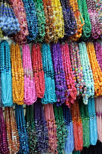 Colorful jewelry