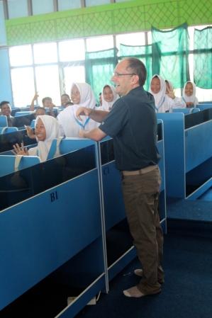 Craig teaching class