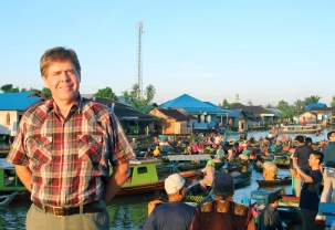 David at floating market