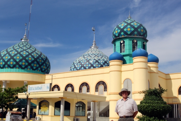 David by Martapura mosque