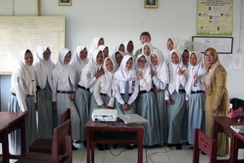 David iwith chemistry class