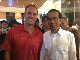 Doug with Pres