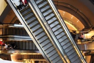 Escalator layers