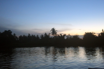 First light on Martapura RIver