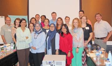 Group with panelists