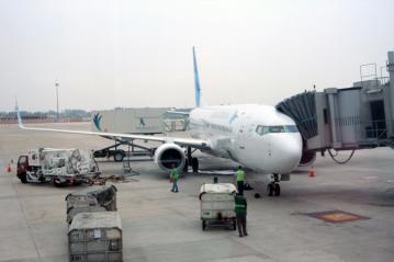 Jakarta Garuda plane