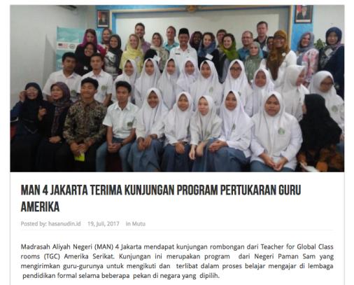 MAN 4 Jakarta article