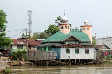 Mosque on the river