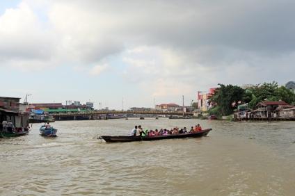 On the Barito River