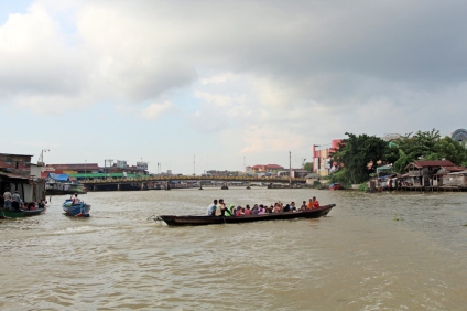 On the Barito River