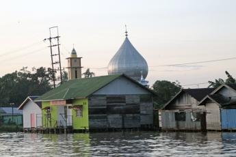 Pre-dawn mosque