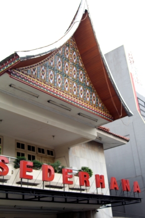 Sederhana restaurant exterior