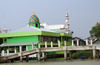 Silver tower mosque