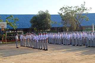 Students in ranks