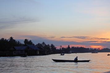 Sunrise on Martapura