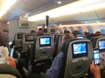 Sydney flight economy class