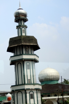 Tower mosque