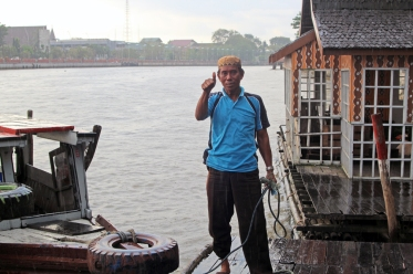 Water taxi driver
