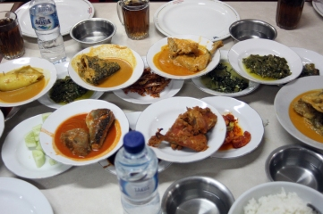 West Sumatran dishes