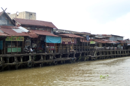 Wharves on the river