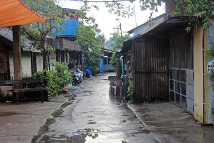 Alley near bakso place