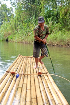 Amli poling raft