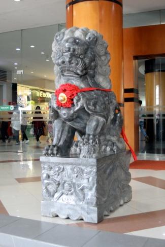 Dead Stone Lion