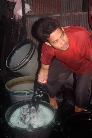 Dye vats 2