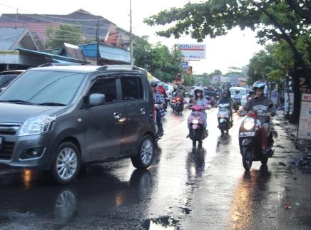 Road after rain