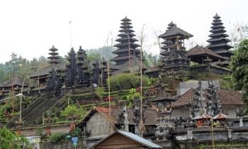Upper pagodas