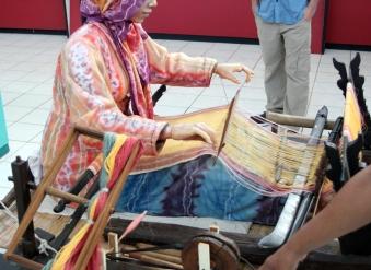 Weaving model