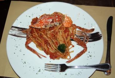 Crab linquini