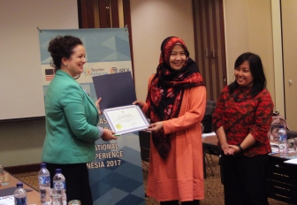 Presentation to Novianti and Dewi