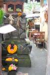 A shrine at a localrestaurant