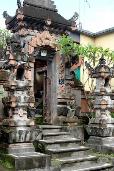 Balinese house gate 2