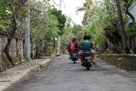Balinese side road