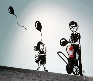 Balloons hydrant