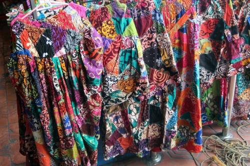 Batik printed skirts
