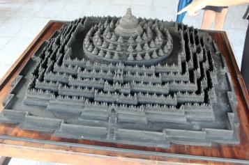 Borobudur model